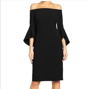 NWT Chelsea 28 black shift dress. Size 2